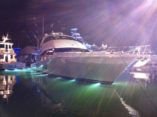 Bertram 80 Enclosed Bridge at Miami Yacht Show. Posted on February 17, ...